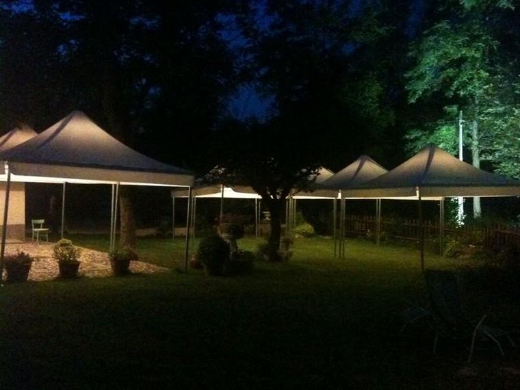 Foto impianti di illuminazione e arredi gazebo modular stage